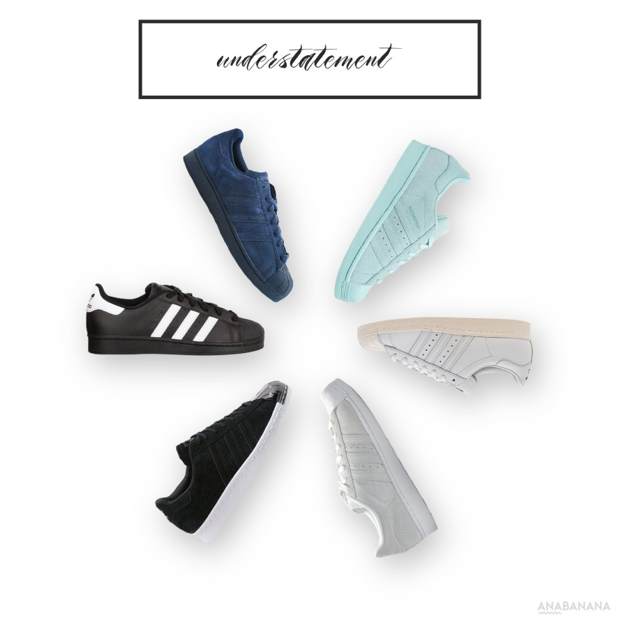 Adidas Superstar Sneaker Basic Colors