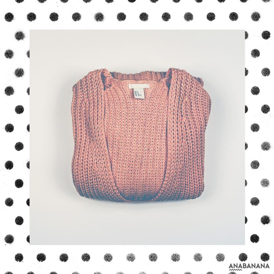der hässliche orangene Pullover