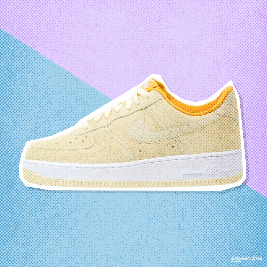 Nike Sportswear AIR FORCE 1 '07 r low lemon drop