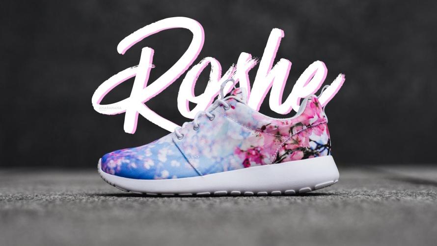 Nike roshe sakura cherry blossom