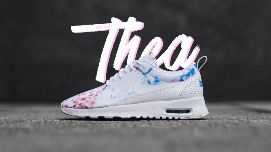 Nike thea sakura cherry blossom