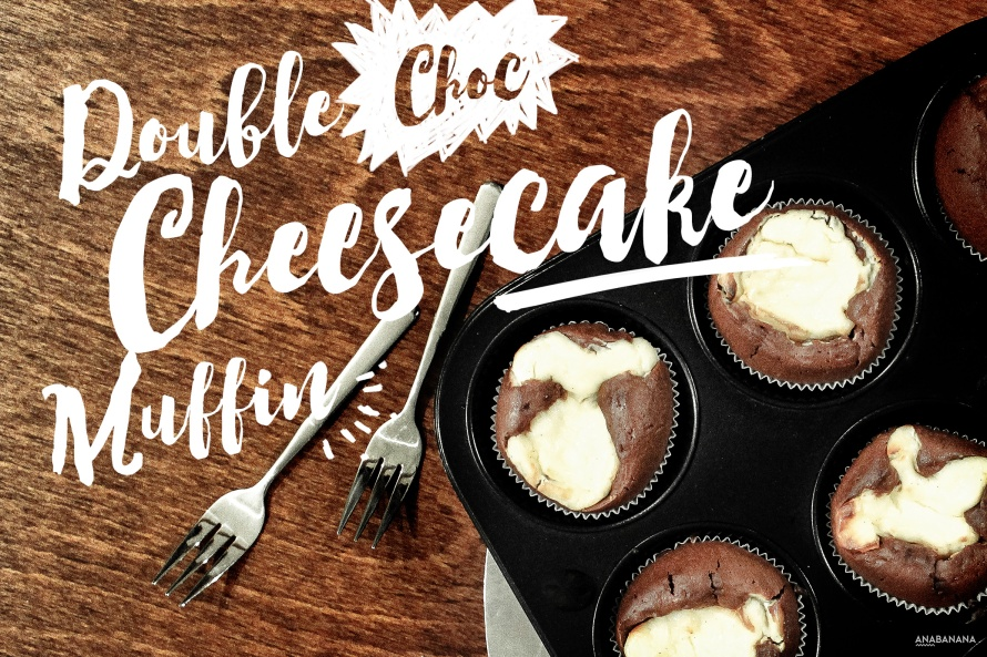 Double Choc Cheescake Muffin