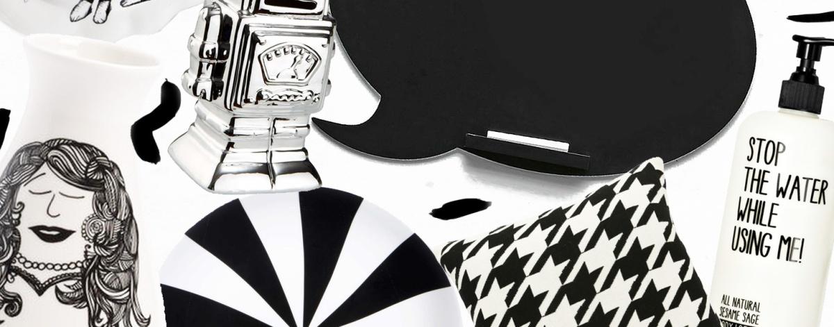 Black & White – Geschenkideen unter 20 Euro
