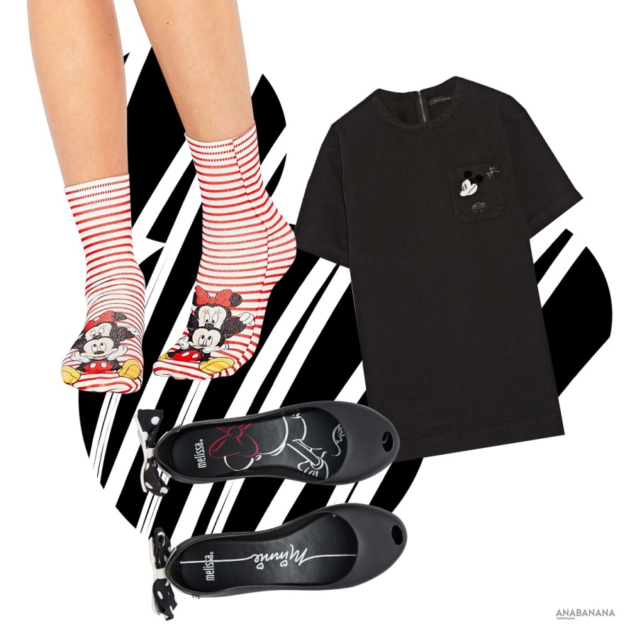 Minnie Mouse Socken Schuhe Kleid Marc Jacobs