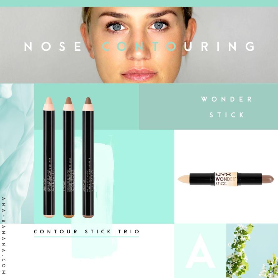Nose Contouring: Nase schmaler schminken & konturieren