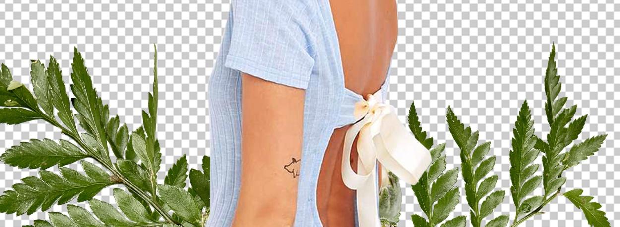 Schleppenkleid Rückenfrei Artikel Titelbild
