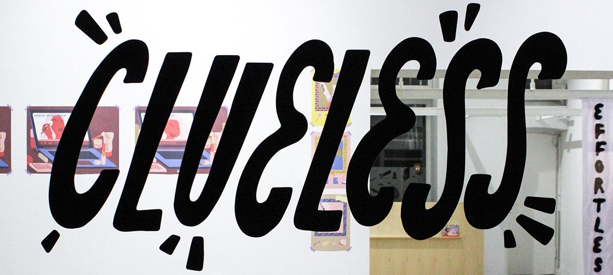 Vernissage NinaSagt Galerie Clueless Sara Andreasson feat Ellen Dynebrink