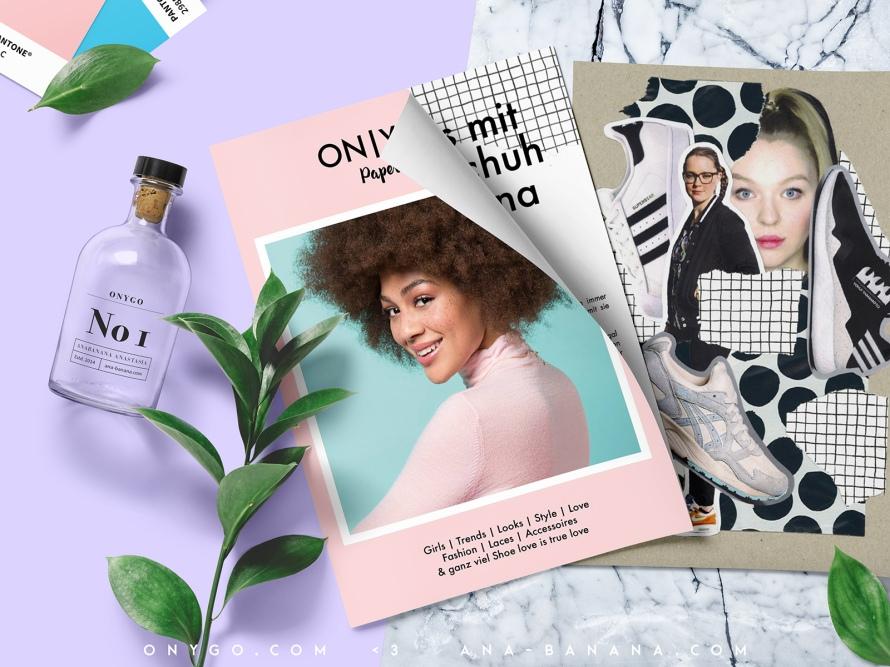 onygo store opening Magazin Zeitschrift anabanana Anastasia Tante Turnschuh