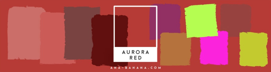 pantone farben herbst winter 2016 2017 aurora red inspiration farbkombination