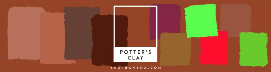 pantone farben herbst winter 2016 2017 Potter's Clay inspiration farbkombination