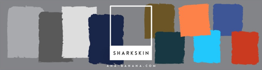 trend pantone 2016 2017 sharkskin anabanana anastasia. Black Bedroom Furniture Sets. Home Design Ideas