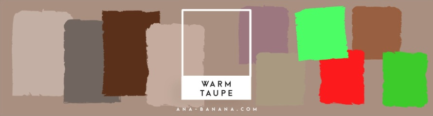 pantone farben Herbst winter 2016 2017 warm taupe inspiration farbkombination