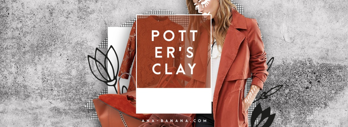 TREND: Pantone 2016 / 2017 Potter's Clay