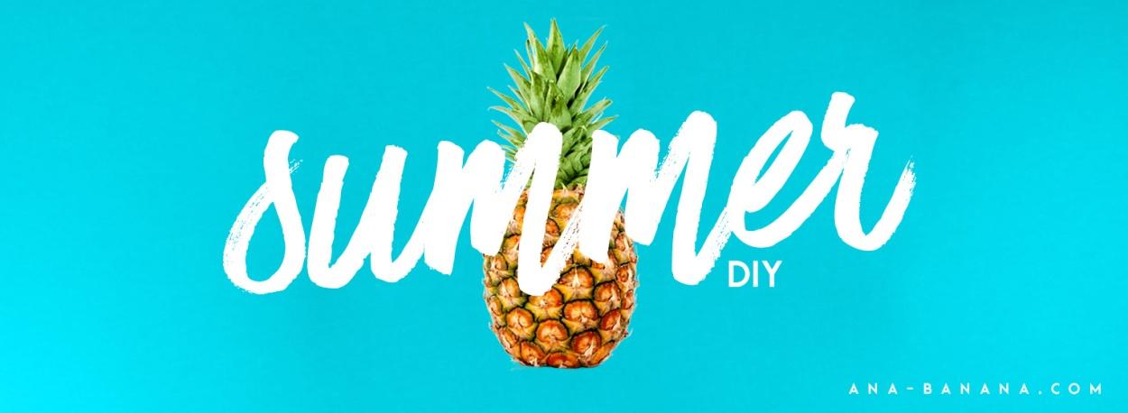 Sommer DIY Shopping Bag und Gewinnspiel von The Body Shop