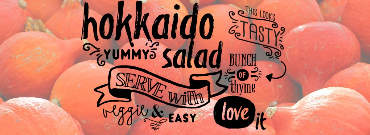 LECKER: Vegetarischer Hokkaido Kürbis Salat