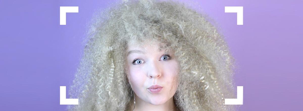TUTORIAL: Extremes Volumen aus glatten Haaren